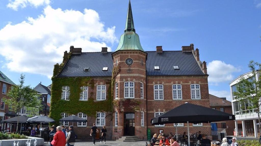 Det gamle rådhus på Torvet
